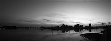 Norfolk Panorama2-bw