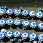 """Beach Umbrellas in Sorrento"" by DonnaCorless"