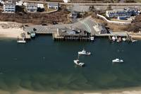 Chatham, Cape Cod Fish Pier Aerial Photo