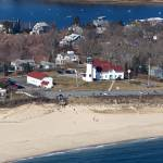 """""""Chatham, Cape Cod Lighthouse Aerial Photo"""" by ChrisSeufert"""