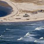 """Cape Cod North Beach Break Aerial Photo"" by ChrisSeufert"