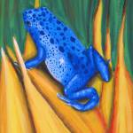 """""""Blue Frog"""" by laughingface2"""