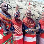 """Masai women"" by Dalyn"