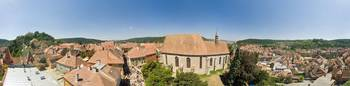 Sighisoara, 360 degrees view