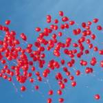"""Red Balloons"" by GenevieveBrown"