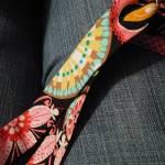 """Floral Fabric on Denim"" by liquidsunshine"