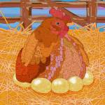 """Mother Hen"" by maryostudio"