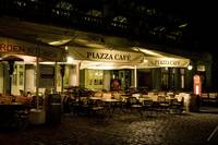 Piazza Café at Covent Garden. London