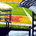"""Heinz Field- ""The Steel City"""" by RipleyDesigns"