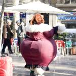 """big woman in Les Rambles. Barcelona"" by bCL_Pro"