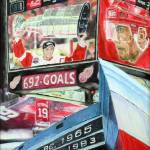 """Steve Yzerman- Detriot Red Wings"" by RipleyDesigns"