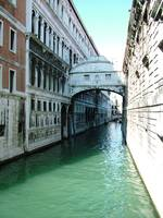 Bridge of Sighs in the Sunlight