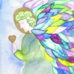 """Angel of Prayer"" by Christia"
