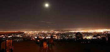 Mt Cootha - Night of Earth Hour 2008