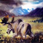 """Tundra Moose"" by Kona"