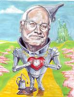 Dick Cheney as the Tin Man