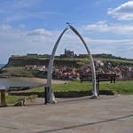 """Whitby Whale Bone Arch  (15692-RDA)"" by rodjohnson"