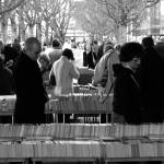 """Waterloo Bridge Book Market"" by anglotopian"