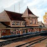 """Saskatoon CPR Station"" by RuthPalmer"