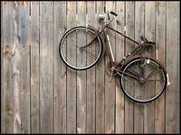 Bike On A Fence