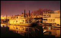 Harriet Island Harbor, Night