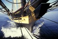 View from the bowsprit #1
