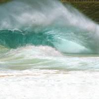 Sandy Beach Shorebreak Hawaii Art Prints & Posters by Kevin W. Smith