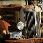 """Rusty truck in California"" by wouinet"