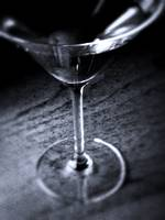 Cocktail in Black and White