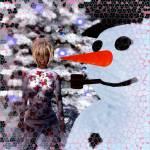 """ME and my Mr. Snowman"" by LaurenWeyland"