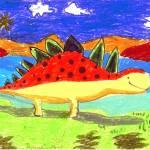 """Brondon Koh 6- Dinosaurs"" by sabahkinderart"