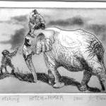 """Hitchhiker"" by DavidBleakley"