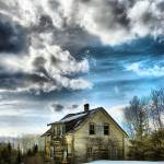"""""""this old hazelwood house portrait"""" by MarkMcCulloch"""