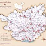 """Guangxi China Orphanage Location Map v1.4"" by redthreadmaps"