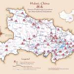 """Hubei China Orphanage Location Map v1.1"" by redthreadmaps"
