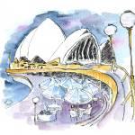 """""""Australia Sydney Opera House"""" by moiramunro"""