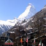 """The Matterhorn from Zermatt"" by stolenshadows"