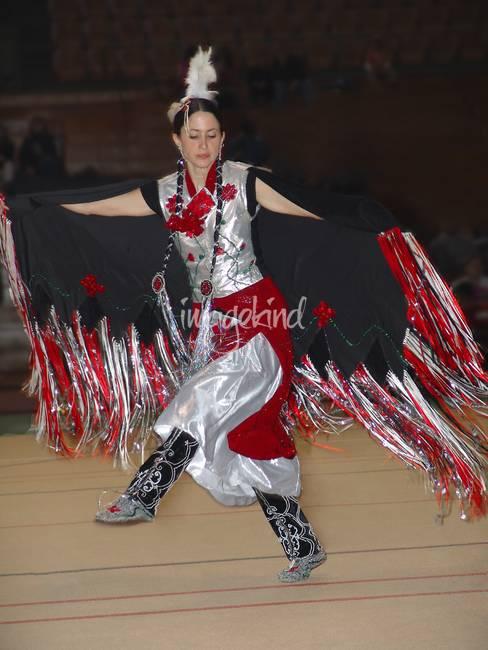 "Fancy Dancer Drawing Fancy Shawl Dancer """