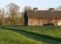 Old Barn on small Oregon Farm