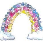 """""""Whimsical Rainbow I"""" by createdcreating"""