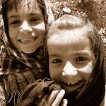 """""""Two Smiling Little Girls, Afghanistan"""" by DezineZone"""