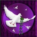 """""""THE DOVE AND THE OLIVE BRANCH"""" by paddyart"""