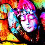 """Daydream: Yellow Orange 9159"" by vicki-pix"