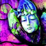 """Daydream: Magenta Green Blue 9159"" by vicki-pix"