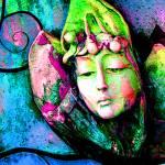 """Daydream: Blue Aqua Green Pink 9159"" by vicki-pix"
