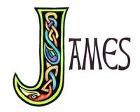Celtic Irish Art  Name James
