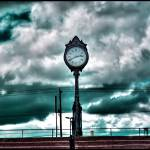 """Revere Beach Clock"" by afterfade"