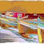 """Lisbon Boats"" by Positives"