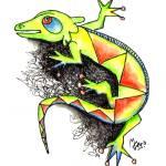 """Juana-la-Iguana"" by mago"