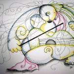 """""""Nude Violin Concert"""" by mago"""